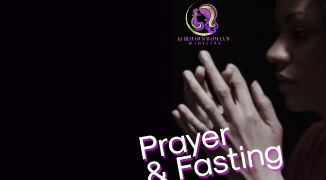 Fast and Pray with your Sisters!